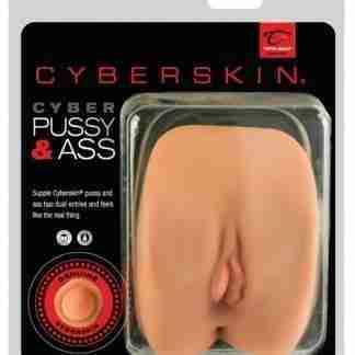 CyberSkin Cyber Pussy & Ass - Flesh