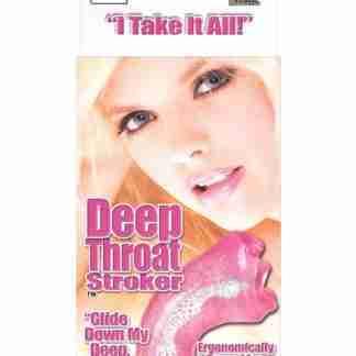 Deep Throat Stroker - Pink