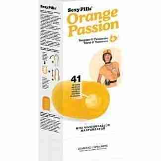 Love to Love Sexy Pills Mini Masturbator - Orange Passion Box of 6