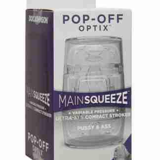 Main Squeeze Pop Off Optix - Crystal Pussy & Ass