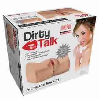 Pipedream Extreme Toyz Dirty Talk Interactive Bad Girl Masturbator