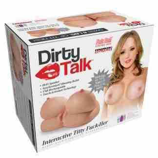 Pipedream Extreme Toyz Dirty Talk Interactive Titty Fuck-Her Masturbator