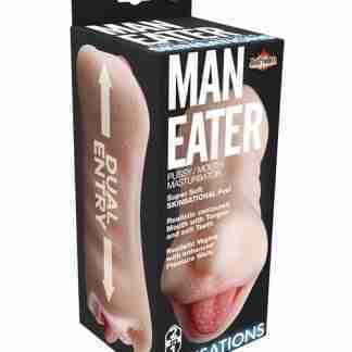 Skinsations Man Eater Pussy/Mouth Masturbator