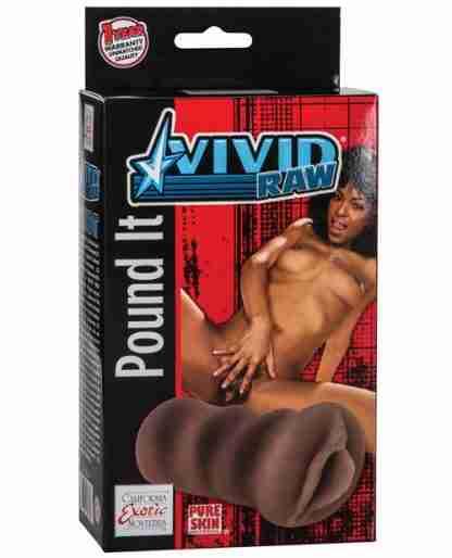 Vivid Raw Pound It - Brown