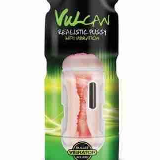 Vulcan Realistic Pussy w/Vibration - Cream