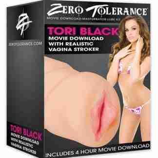 Zero Tolerance Tori Black Movie Download w/Realistic Vagina Stroker