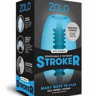 ZOLO Mini Bubble Stroker - Blue