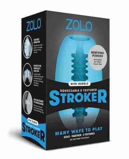 ZOLO Mini Bubble Stroker - Blue