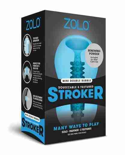 ZOLO Mini Double Bubble Stroker - Blue