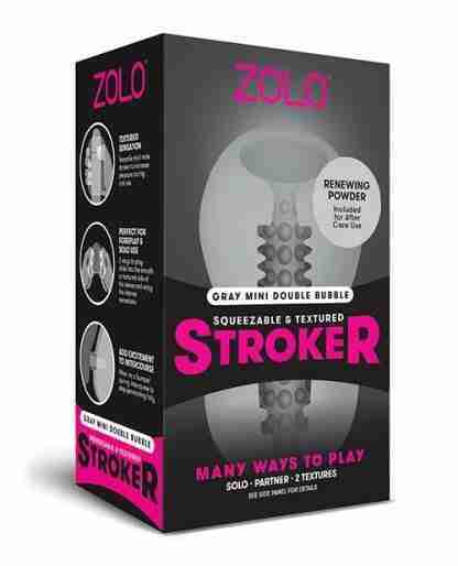 ZOLO Mini Double Bubble Stroker - Gray