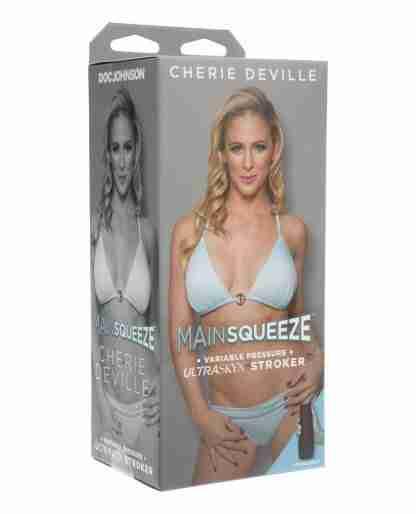 Main Squeeze ULTRASKYN Pussy Stroker - Cherie DeVille