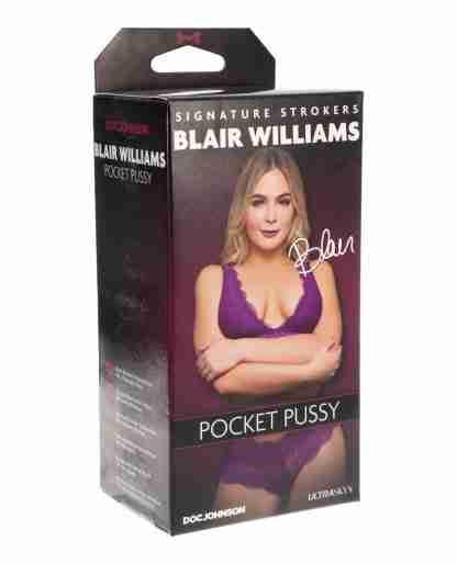 Signature Strokers ULTRASKYN Pocket Pussy - Blair Williams