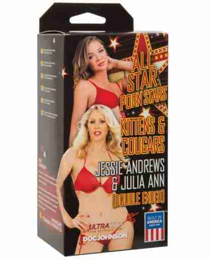 All Star Porn Stars Kittens & Cougars Jessie Andrews Pussy & Julia Ann Pussy
