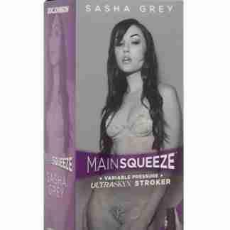 Main Squeeze Pussy Masturbator - Sasha Grey