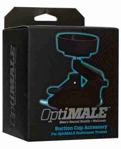 OptiMale Suction Cup Accessory for Endurance Trainer - Black