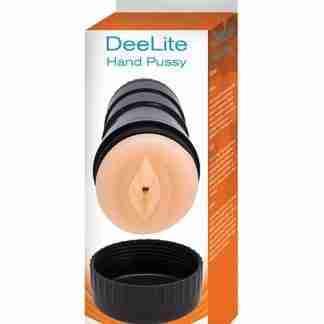 Dee Lite Hand Pussy - White