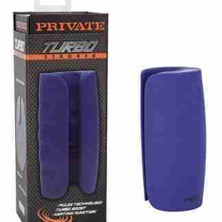 Private Turbo Stroker - Blue