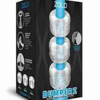 ZOLO Bumperz Squeezable Stroker Set - Clear